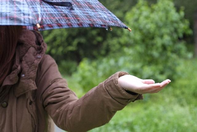 雨女 豪雨 ゲリラ豪雨